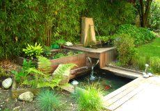 Création d'un bassin en cascade, Meudon