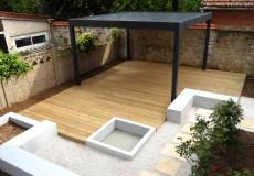 Terrasse et pergola bioclimatique