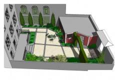 Conception pour un aménagement à Sceaux
