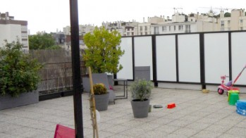 Toit terrasse avant travaux