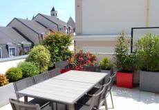 Terrasse réalisée au Plessis-Robinson