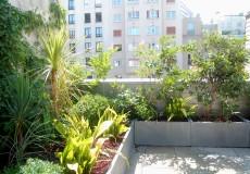 Aménagement d'une petite terrasse, Paris 19ème Conception: Alice Tricon