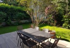 Aménagement du jardin, réalisation d'une terrasse, Clamart