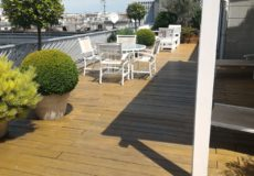 Terrasse ambiance méditerranéenne