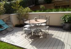 Terrasse timbertech gris